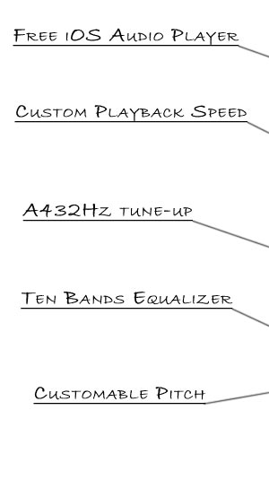 alphaSXplayer - the powerest FREE audio player for iOS